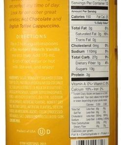 Tim Hortons French Vanilla Cappuccino 450gr Adems Inc Ltd